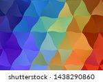 light multicolor vector polygon ... | Shutterstock .eps vector #1438290860