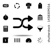video movie hd icon. elements...