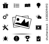 gift box  present package icon. ...