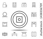 magic money outline icon....