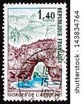 france   circa 1971  a stamp...   Shutterstock . vector #143834764