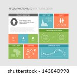 vector flat user interface  ui  ... | Shutterstock .eps vector #143840998