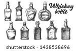 collection of scotch whisky... | Shutterstock .eps vector #1438538696