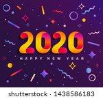 banner for 2020 insta new year. ...   Shutterstock .eps vector #1438586183