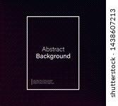 geometric gradient background... | Shutterstock .eps vector #1438607213