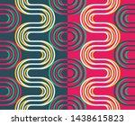 vector seamless pattern. simple ... | Shutterstock .eps vector #1438615823