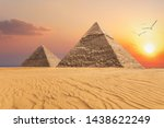 The Pyramid Of Chephren And Th...