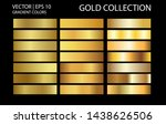 golden chrome metallic texture... | Shutterstock .eps vector #1438626506
