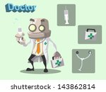 cartoon vector illustration of... | Shutterstock .eps vector #143862814