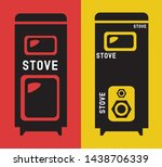 stove vector icon  iron wood... | Shutterstock .eps vector #1438706339