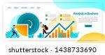 analyze business data statistic ...