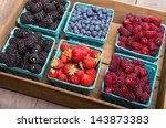 Fresh Boxes Of Assorted Berries ...