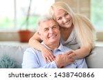 portrait of happy mature couple ... | Shutterstock . vector #1438740866