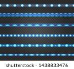 led light strips. technology...   Shutterstock .eps vector #1438833476