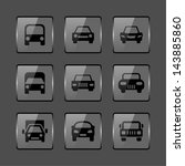 auto icons | Shutterstock .eps vector #143885860