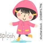 Illustration Of Splosh Sound...