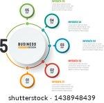 vector infographic... | Shutterstock .eps vector #1438948439