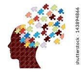 Stock vector dementia concept vector 143894866
