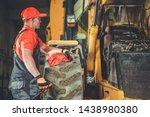 Small Tractor Bulldozer Engine...