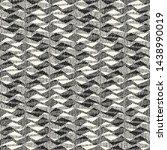monochrome irregular zigzag... | Shutterstock .eps vector #1438990019