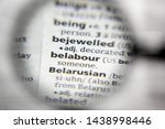 Small photo of The word or phrase belabour in a dictionary