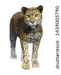 3d Rendering Of A Big Cat...