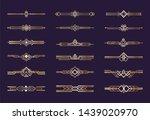 art deco ornament. 1920s... | Shutterstock . vector #1439020970