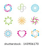 modern circles symbol and icon | Shutterstock .eps vector #143906170