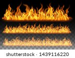 collection of flame effect... | Shutterstock .eps vector #1439116220