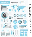 modern infographic elements set | Shutterstock .eps vector #143917714