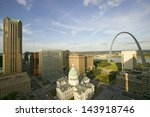 Elevated View Of Saint Louis...