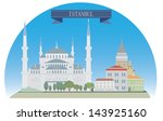 istanbul  turkey. for you design | Shutterstock .eps vector #143925160