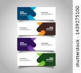banner background business... | Shutterstock .eps vector #1439275100