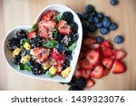 Healthy Quinoa Fruit Salad In...