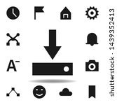 user software install icon. set ...
