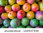 close up view of ripe florida... | Shutterstock . vector #143937550