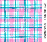 grunge stripes seamless vector... | Shutterstock .eps vector #1439401760