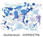graffiti spray stains grunge... | Shutterstock .eps vector #1439401796