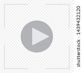 video playback modern icon in... | Shutterstock .eps vector #1439432120
