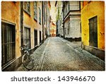 Old Streets Of Stokholm  ...