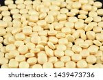 close up photo of many yellow... | Shutterstock . vector #1439473736