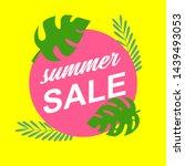 sale banner template design ...   Shutterstock .eps vector #1439493053