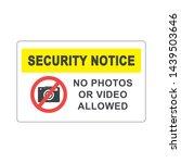 no photos or video allowed...