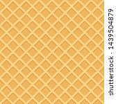 Seamless Pattern Of Waffle Or...