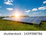 solar panels  photovoltaic  ... | Shutterstock . vector #1439588786