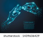 abstract image of  lovers... | Shutterstock .eps vector #1439636429