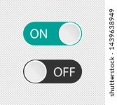 on off toggle switch buttons  ...