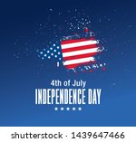fourth of july independence day ... | Shutterstock .eps vector #1439647466