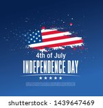 fourth of july independence day ... | Shutterstock .eps vector #1439647469
