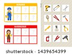 matching children educational... | Shutterstock .eps vector #1439654399